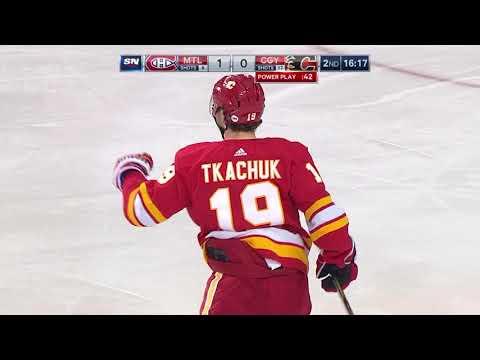 Video: Montreal Canadiens vs Calgary Flames | NHL | NOV-15-2018 | 22:00 EST