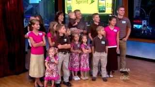 The Bates Family on Raising 19 Kids, New Reality Show