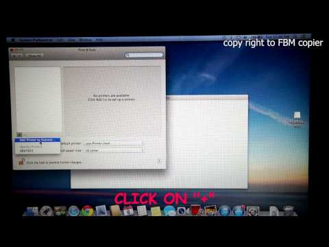 How to Install Canon Printer Driver on MAC