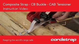Cordstrap | 2a Composite Strap + CB Buckle + CAB Tensioner