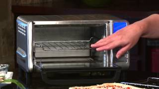 Compact Digital Toaster Oven Broiler Demo Video Icon