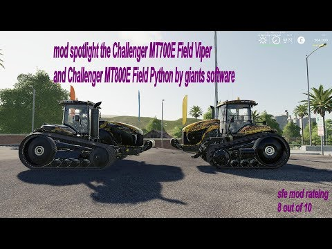 Challenger MT800E Field Python v1.0