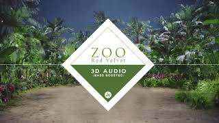 Video Red Velvet 레드벨벳 - Zoo (3D Audio Bass Boosted) MP3, 3GP, MP4, WEBM, AVI, FLV Agustus 2018