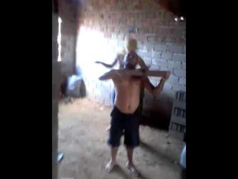 O maestro Betinho e seus dançarinos em jaramataia -AL