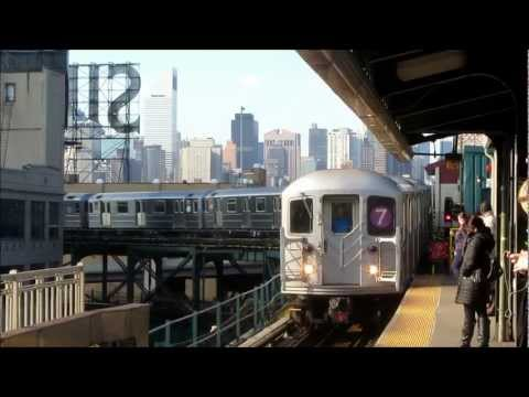 in queens - an amazing video of the 7 train - known as the International Express and driver's view of the train too! - The 7 Flushing Local and 7 Flushing Express are ra...