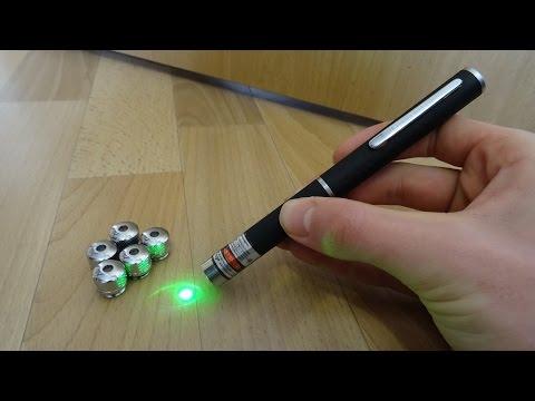 Super Starker Laserpointer mit 5 Linsen von TMART - Test