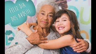 Entrevistando minha bisá....Homenagem para os avós...