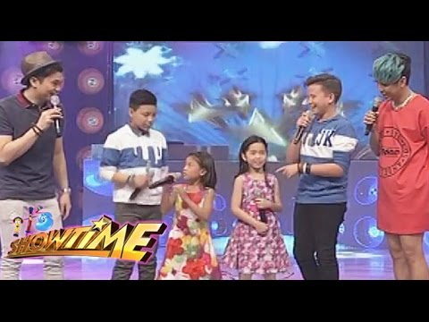 kids - The Voice Kids Final 4 gets naughty with Vice Ganda and Vhong Navarro. Subscribe to the ABS-CBN Online channel! - http://goo.gl/TjU8ZE Watch the full episodes of It's Showtime on TFC.TV...