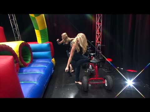 Maxim Hometown Hotties Do Obstacle Course on WGN Morning News Video