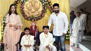 Video Nandamuri Family in Janakiram Sons Dhoti Function | Jr NTR | Kalyan Ram MP3, 3GP, MP4, WEBM, AVI, FLV September 2018