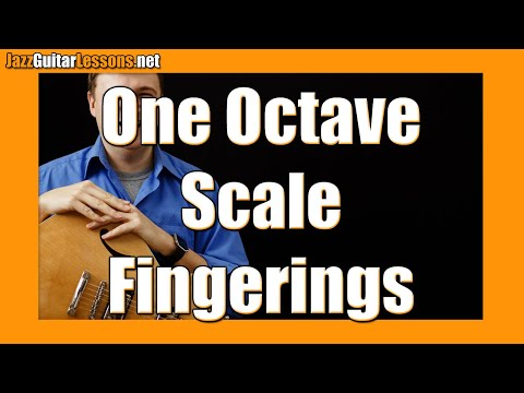 Jazz Guitar Tips: One-Octave Fingerings (for Jazz Guitar Scales)