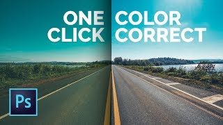 Quickest Way to Color Correct in Any Situation in Photoshop