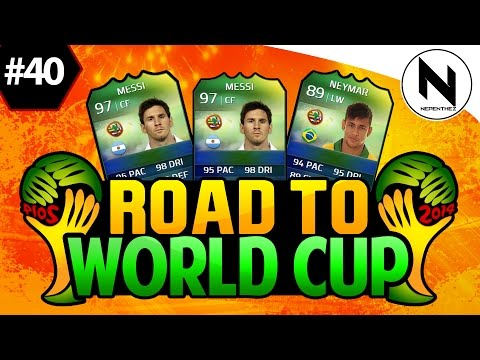 Cup - FIFA 14 Ultimate Team, Road to World Cup, Episode 40, World Cup Ultimate Team, DAMN IT EA, - FIFA 15