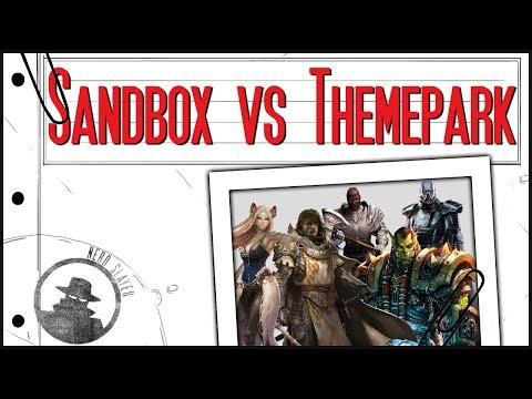 Sandbox  MMO vs Themepark MMO