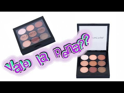 Review Paleta Glam Factor Nudes
