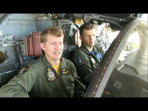 Aterrizaje sobre el vientre de un F-111