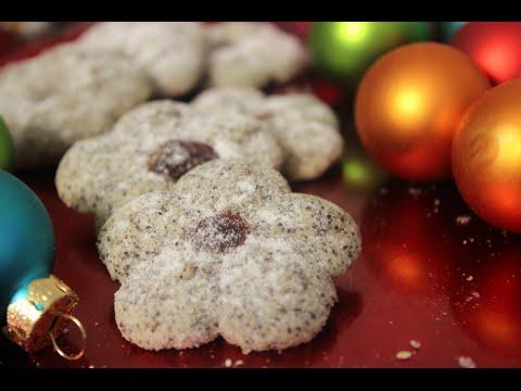 Mohnkringel / Mohnplätzchen / Leckere Weihnachtsplätzchen mit der Gebäckspritze