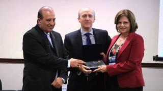 Juntos pela Segurança recebendo prêmio nacional do MuniCiência