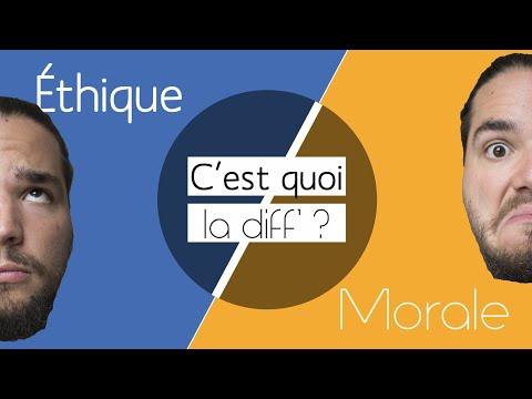 ÉTHIQUE ≠ MORALE - C'est Quoi La Diff' ?