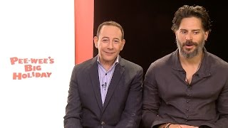 Nonton Paul Reubens And Joe Manganiello Talk Pee Wee   S Big Holiday Film Subtitle Indonesia Streaming Movie Download