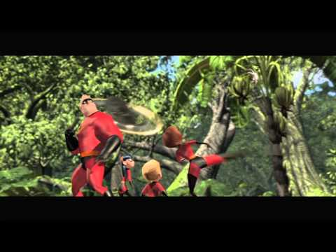 """The Incredibles on Blu-ray: """"Battle Time is Family Time"""" - Clip"""
