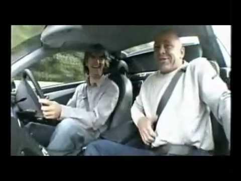 Damon Hill corre troppo ed il giornalista della BBC da di stomaco