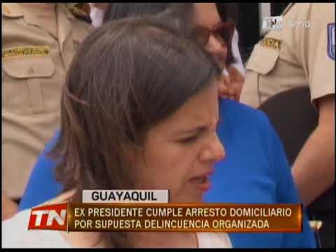 Ex presidente cumple arresto domiciliario por supuesta delincuencia organizada