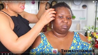 Video CLIENT HAIR AND MAKEUP TRASFORMATION VLOG 6/BEAUTY FOREVER HAIR MP3, 3GP, MP4, WEBM, AVI, FLV Agustus 2018