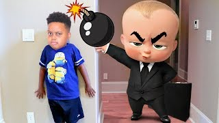 BOSS BABY vs Bad Baby Shiloh! - Shasha and Shiloh - Onyx Kids - Subscribe for more funny videos! http://bit.ly/2jC2E1C Watch...
