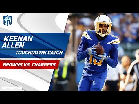 Video: Keenan Allen's Amazing Grab on 4th Down & TD Catch vs. Cleveland! | Browns vs. Chargers | NFL Wk 13
