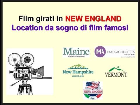 Video FILM GIRATI NEL NEW ENGLAND (Maine, Massachusetts, New Hampshire e Vermont) Location da sogno dei film famosi (22/3/16)