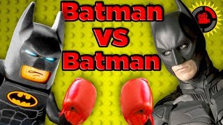 Film Theory: LEGO Batman vs DC Batman - Who's The Strongest Batman?