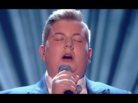 Golden Buzzer Kyle Takes on Adele Big Hit | Semi Final 1 | Britain's Got Talent 2017