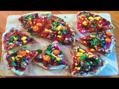 Weight loss Pizza! Raw Till 4 Gluten free, yeast free, oil free, low sodium, low fat