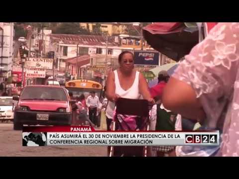 Panamá asumirá la presidencia de la Conferencia Regional sobre Migración