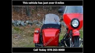 7. 2012 Ural Tourist New Motorcycles in Boxborough MA