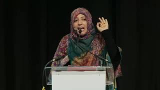 كلمة الناشطة الحائزة على جائزة نوبل للسلام توكل كرمان في مؤتمر القمة السنوي للحائزين على جائزة نوبل للسلام في العاصمة الكولومبية بوغوتا - 2- 2 - 2017