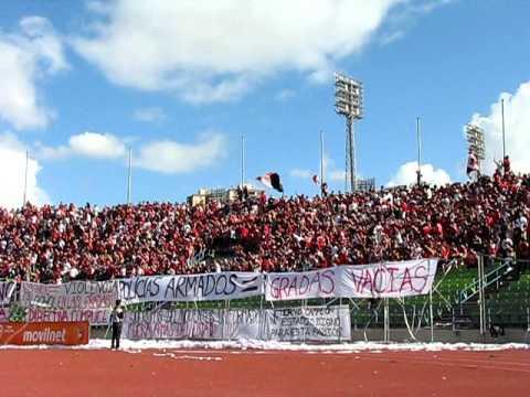 Caracas FC vs Caroni 22/01/2011 - Los Demonios Rojos - Caracas