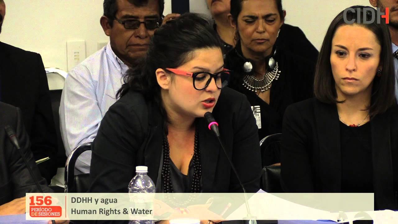 Los derechos humanos y el agua en Am�rica