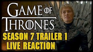 "Game Of Thrones Season 7 Official Trailer 1 and Reaction ---Please Subscribe: https://www.youtube.com/user/theissuesguystuff?sub_confirmation=1Check out your favorite Shows Playlist! https://www.youtube.com/user/theissuesguystuff/playlistsSubscribe to our podcast on ITunes http://issuesprogram.com/itunes/https://itunes.apple.com/us/podcast/phils-recap-and-review-with-phil-theissuesguy-podcast/id943187265?mt=2Thanks for the support!---To help us Keep going and create more content  consider:Supporting the channel on Patreon: https://www.patreon.com/philtheissuesguyDonate to the Channel on Paypal:  https://www.paypal.me/PhiltheissuesguyAlso it really helps us to check out some off the offers and links bellow! http://www.audibletrial.com/Issues to sign up for 30 free days of Audible and get a free book! It helps us out BiG TIMEl! :)To get 30 days free with 1 games out on Gamefly sign up with the link: http://gameflyoffer.com/issuesSign up LootCrate! http://www.trylootcrate.com/issuesJoin the Record of the Month club: http://joinvmp.com/issues----Stay connected!Discord: https://discord.gg/0upUVdagXcUuzbfGGoogle Community: https://plus.google.com/u/0/communities/116286288385889495387Songs Used on the Show:  https://soundcloud.com/user-521817999And for more check out : http://Issuesprogram.com and our sisters channel http://youtube.com/dirtyissues for more fun!And If you have any questions or anything Call/Text 781 990 8509- 24/7Tweet @igotissuesmanor email igotissuesman@gmail.comThanks!http://issuesprogram.comhttps://twitter.com/igotissuesmanhttps://www.facebook.com/theissuesguyhttps://twitter.com/dirtylockzPartners/Associations Land Of ESH : http://www.electricsistahood.com http://www.youtube.com/dirtyissuesG4 Comic Etc: http://www.g4comicsetc.com------------------------------------------------------------------------------------------------------------------------------------------------------------------------Game of Thrones is an American fantasy drama television series created by David Benioff and D. B. Weiss. It is an adaptation of A Song of Ice and Fire, George R. R. Martin's series of fantasy novels, the first of which is titled A Game of Thrones.The Walking Dead is an American horror drama television series developed by Frank Darabont, based on the comic book series of the same name by Robert Kirkman, Tony Moore, and Charlie Adlard. Andrew Lincoln plays the show's lead character, sheriff's deputy Rick Grimes,[3] who awakens from a coma discovering a world overrun by zombies, commonly referred to as ""walkers"".[4] Grimes reunites with his family and becomes the leader of a group he forms with other survivors. Together they struggle to survive and adapt in a post-apocalyptic world filled with walkers and opposing groups of survivors, who are often more dangerous than the walkers themselvesBetter Call Saul is an American television crime drama series created by Vince Gilligan and Peter Gould. It is a spin-off prequel of Breaking Bad, which was also created by Gilligan.[3] Set in 2002, Better Call Saul follows the story of small-time lawyer James Morgan ""Jimmy"" McGill (Bob Odenkirk), six years before his appearance on Breaking Bad as Saul Goodman; events after the original series are briefly explored.[4]Vikings is an Irish-Canadian historical drama television series written and created by Michael Hirst for the television channel History. Filmed in Ireland, it premiered on March 3, 2013 in Canada and the United States.[1]Vikings is inspired by the sagas of Viking Ragnar Lothbrok, one of the best-known legendary Norse heroes and notorious as the scourge of England and France. The show portrays Ragnar as a farmer who rises to fame by successful raids into England, and eventually becomes a Scandinavian king,[nb 1] with the support of his family and fellow warriors: his brother Rollo, his son Björn Ironside, and his wives—the shieldmaiden Lagertha and the princess Aslaug.Westworld is an American science fiction thriller television series created by Jonathan Nolan and Lisa Joy for HBO. It is based on the 1973 film of the same name, which was written and directed by American novelist Michael Crichton. Nolan serves as executive producer along with Joy, J. J. Abrams and Bryan Burk with Nolan directing the pilot. The first episode premiered on October 2, 2016. The first season consists of ten episodes.[1]The program takes place in fictional Westworld, a technologically advanced, Western-themed amusement park populated completely by synthetic androids dubbed ""hosts"". Westworld caters to high-paying visitors dubbed ""newcomers"" (also known as ""guests""), who can do whatever they wish within the park, without fear of retaliation from the hosts."