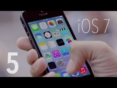 tldtoday - My Top 5 iOS 7 Features! Subscribe for the Review! Top 5 iPhone 5s Features! http://www.youtube.com/watch?v=ljKg7mvld2M New 2013 MacBook Airs! http://amzn.to...