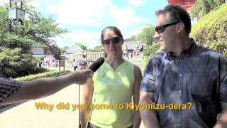 Travelers' Voice of Kyoto: KIYOMIZU DERA Area Interview007