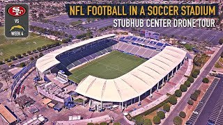 LA Chargers StubHub Center Drone Tour Preview vs SF 49ers