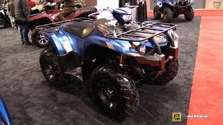 8. 2019 Yamaha Kodiak 450 SE - Walkaround - 2019 Quebec Motorcycle Show