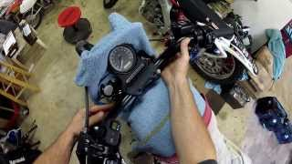 10. Installing Fork Springs! - Harley Iron 883  | ShopTalk