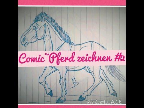 Pferd zeichnen #2 (COMIC~Style)^^