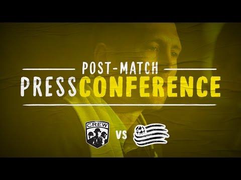 Video: Post-Match Press Conference: Columbus vs. New England