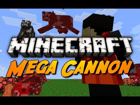 Minecraft: Villager Powered Mob Cannon in 1.3! (500k Subscriber Special)