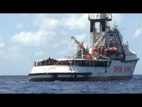 Σε αδιέξοδο το Open Arms- Κραυγή αγωνίας από την αποστολή του πλοίου…