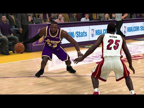 NBA Today 11/8/2019 - Los Angeles Lakers vs Miami Heat – NBA 2K20 PS4